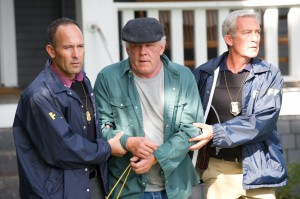 "Nick Nolte (center) stars as Donal Fitzgerald in ""The Company You Keep."" ©Sony Pictures Classics. Cr: Doane Gregory."