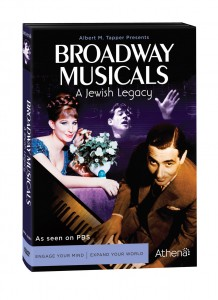 """Broadway Musicals: A Jewish Legend."" (Box Art). ©Athena."