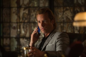 "Guy Pearce stars as Aldrich Killian in ""Marvel's Iron Man 3."" ©2012 MVLFFLLC.  TM & ? 2012 Marvel.  CR: Zade Rosenthal"