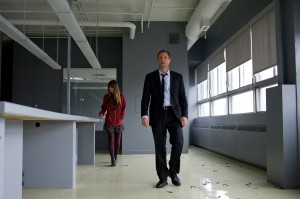 "(l-r) Liana LIberato and Aaron Eckhart in ""Erased."" ©Radius/TWC. CR: Vero Boncomgpagni."