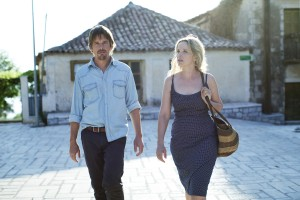 "(l-r) ETHAN HAWKE and JULIE DELPY in ""BEFORE MIDNIGHT."" ©SONY PICTURES CLASSICS."