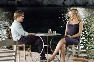 "(l-r) ETHAN HAWKE and JULIE DELPY enjoy the night in ""BEFORE MIDNIGHT."" ©SONY PICTURES CLASSICS."