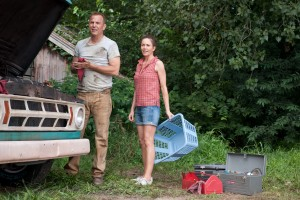 "(L-r) KEVIN COSTNER as Jonathan Kent and DIANE LANE as MARTHA KENT in Warner Bros. Pictures' and Legendary Pictures' action adventure ""MAN OF STEEL."" ©DC Comics/Warner Bros. Entertainment. CR: Clay Enos."