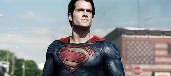 Henry Cavill Suits Up for 'Man of Steel'