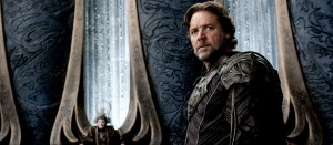 "RUSSELL CROWE as Jor-El in Warner Bros. Pictures' and Legendary Pictures' action adventure ""MAN OF STEEL."" ©DC Comics/ Warner Bros. Entertainment. CR: Clay Enos."