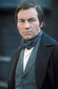 "John Thornton (Patrick Stewart) the ambitious and severe mill owner in BBC's ""North & South."" ©Acorn."