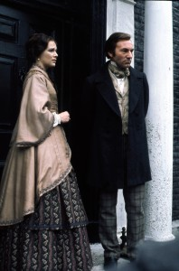 "Patrick Stewart (right) stars in BBC's ""North & South."" ©Acorn"