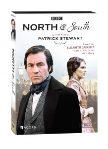 "BBC's ""North & South"" DVD art. ©Acorn."