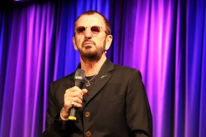 "Ringo Star at the kick off  of the exhibit ""Ringo: Peace & Love"" held at the Grammy Museum in Los Angeles, CA on Tuesday, June 11, 2013. Photo by Michael Hixon."