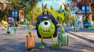 "JUST ANOTHER WIDE-EYED COLLEGE STUDENT – Mike Wazowski (Billy Crystal) has arrived—and Monsters University will never be the same in ""Monsters University."" ©Disney/Pixar."