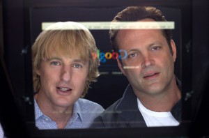 THE INTERNSHIP stars Owen Wilson (l) and Vince Vaughn (r) as salesmen whose careers have been torpedoed by the digital world. ©20th Century Fox. CR: Phil Bray.