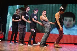 The Janoskians on stage at The Janoskians Concert held at House of Blues in West Hollywood, CA on Wednesday, June 5, 2013. Photo by Peter Gonzaga_Pacific Rim Photo Press