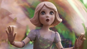 "China Girl (Joey King) travels in a bubble in ""Oz The Great and Powerful."" ©Disney."
