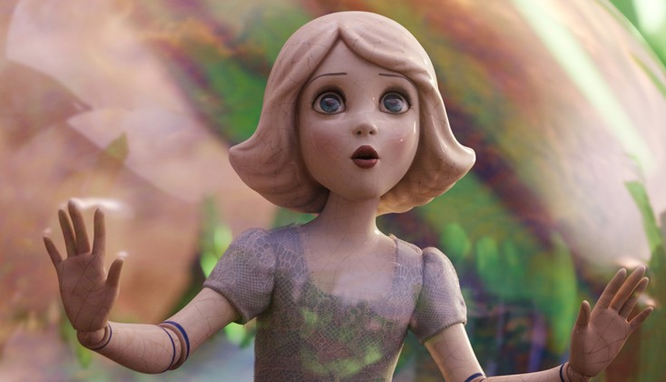 Animators and actor bring China Girl to life in 'Oz The Great and Powerful'