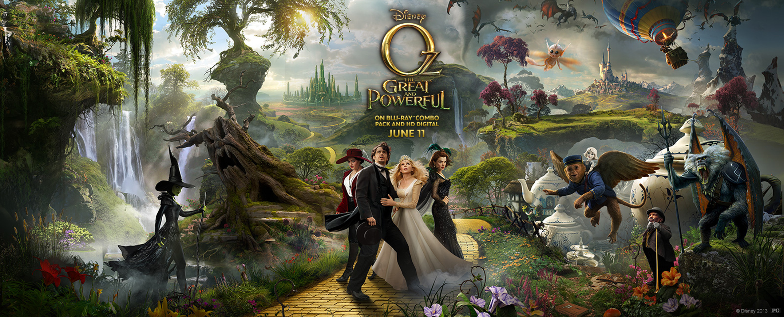 Animators and actor bring China Girl to life in 'Oz The ... Oz The Great And Powerful Cast And Crew