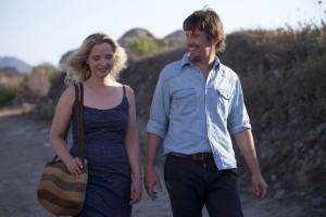 "(l-r) Julie Delpy and Ethan Hawke star in ""Before Midnight."" ©Sony Pictures Classics."