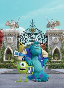 "(L-R) MIKE and SULLEY in ""MONSTERS UNIVERSITY"". ©2013 Disney•Pixar."