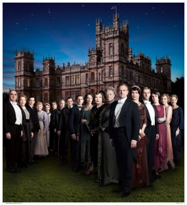 "The cast of ""Downton Abbey"" featured on Masterpiece Classics on PBS. ©Carnival."