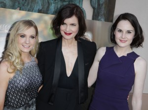 "Joanne Froggatt, Elizabeth McGovern & Michelle Dockery attends An Evening With ""Downton Abbey"" held at the Leonard H. Goldenson Theatre in North Hollywood, CA. The event took place on Monday, June 10, 2013.  Photo by Steven Lam_PRPP."