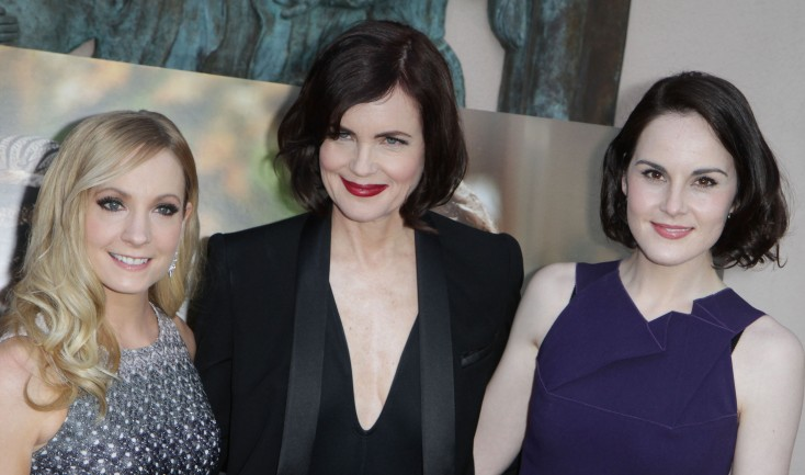 'Downton Abbey' Creator and Cast Talk Season Four – 4 Photos