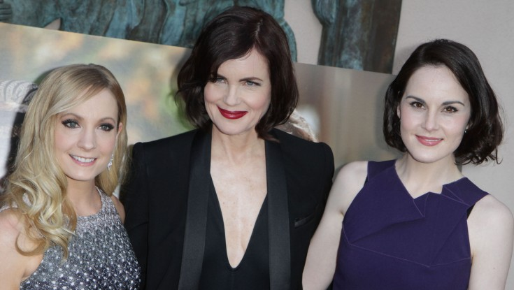 Michelle Dockery Back at the 'Abbey' for Season Five