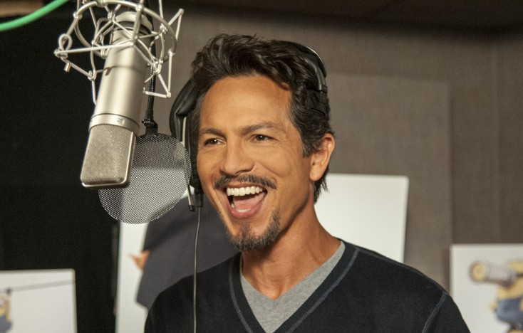Benjamin Bratt Goes Big in 'Despicable Me 2' – 2 Photos