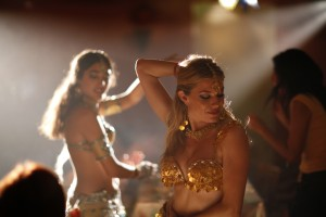 "Sienna Miller shows off her belly dance moves in ""JUST LIKE A WOMAN."" ©Cohen Media Group. CR: Roger Arpajou."