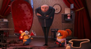 "Gru (STEVE CARELL) has about had enough mischief in ""Despicable Me 2."" ©Universal Studios."