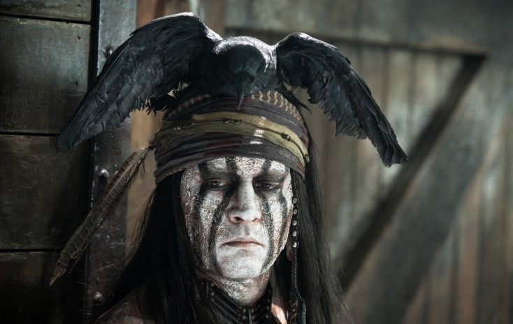 Johnny Depp is No Sidekick in 'The Lone Ranger' – 4 Photos