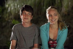 "Liam James as Duncan and AnnaSophia Robb as Susanna in ""THE WAY WAY BACK."" ©20th Century Fox. CR: Claire Folger"