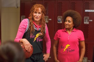 "(L-R) Daryl Hannah and Wanda Sykes in the inspirational comedy ""HOT FLASHES."" ©Vertical Entertainment. ,"