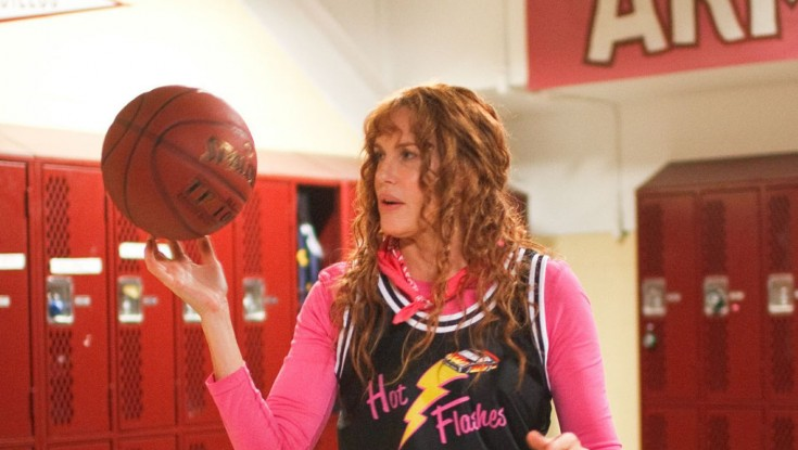 EXCLUSIVE: Hannah Hits the Hoops in 'Hot Flashes'