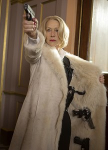 "HELEN MIRREN is packing guns in ""RED 2."" © 2013 Summit Entertainment, LLC. CR: Frank Masi, SMPSP"