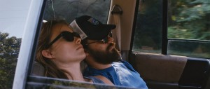 "Olivia Wilde and Jake Johnson in ""DRINKING BUDDIES."" ©Magnolia Pictures."
