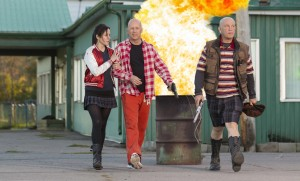 "(L-R) MARY-LOUISE PARKER, BRUCE WILLIS and JOHN MALKOVICH star in ""RED 2."" © 2013 Summit Entertainment, LLC. CR: Jan Thijs."