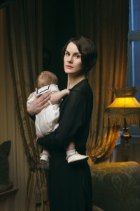 "Michelle Dockery plays Lady Mary in ""Downton Abbey."" © Nick Briggs/Carnival Film and Television Limited 2013 for MASTERPIECE"