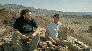 "(L-R) Dan Fogler and Josh Duhamel in the unique character-driven thriller ""SCENIC ROUTE."" ©Vertical Entertainment."