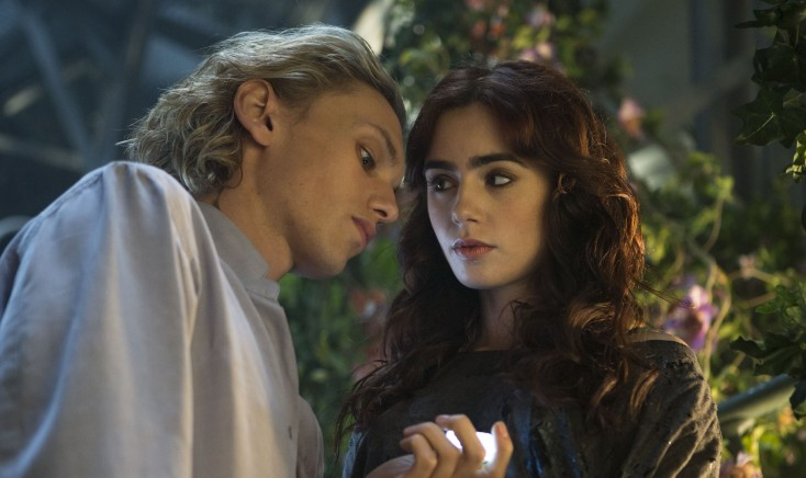 Lily Collins Materializes in Otherworldly 'City of Bones' – 4 Photos