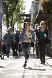 Clary (Lily Collin) races home in Screen Gems' fantasy-action THE MORTAL INSTRUMENTS: CITY OF BONES. ©Constantin Film International GmbH and Unique Features (TMI) Inc. CR: Rafy.