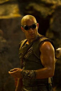 "VIN DIESEL reprises his role as the antihero Riddick, a dangerous, escaped convict wanted by every bounty hunter in the known galaxy, in ""Riddick."" ©Universal Studios. cR: Jan Thijs."