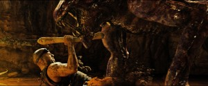 "Riddick (VIN DIESEL) fights for survival in ""Riddick."" ©Universal Studios."