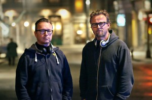 "(l-r) Espen Sandberg and Joachim Ronning, the filmmaking team of ""KON TIKI."" ©The Weinstein Company."