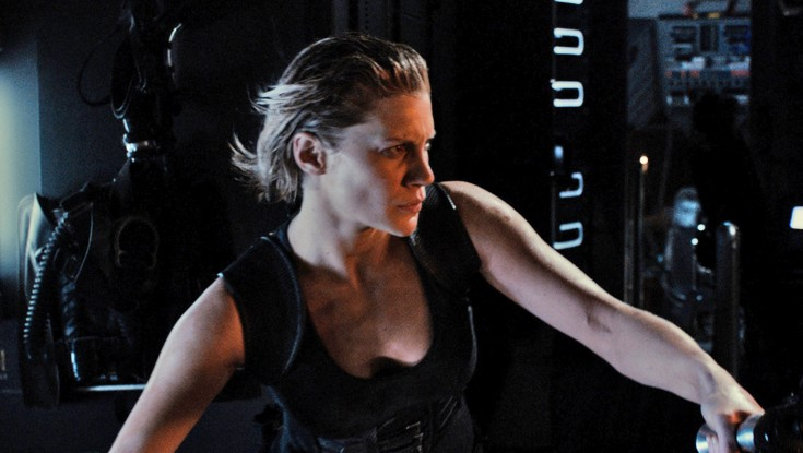EXCLUSIVE: Katee Sackhoff Holds Her Own Against the Guys in 'Riddick'