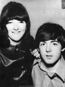 "Freda Kelly with Paul McCartney from the documentary ""Good Ol' Freda."" ©Freda Kelly."