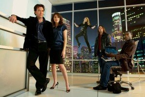 "The cast of season 5 of ""Leverage"" lives on in Blu-Ray and DVD. ©TNT."