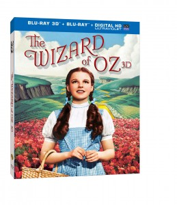 """The Wizard of Oz 3D"" (DVD Box Art). ©Warner Home Entertainment."