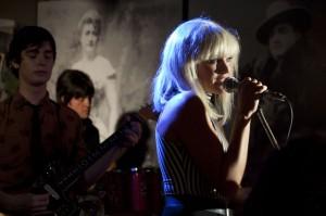 "Malin Akerman stars as Debbie Harry in ""CBGB."" ©XLrator Media. CR: Beau Giann."