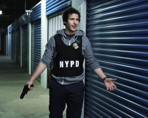 "Andy Samberg stars in the new Fox comedy ""BROOKLYN NINE-NINE."" ©Fox Broadcasting Co. Cr: Beth Dubber/FOX"