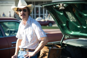 Matthew McConaughey as Ron Woodroof in Jean-Marc Vallée's fact-based drama, DALLAS BUYERS CLUB. ©Focus Features. CR: Anne Marie Fox.