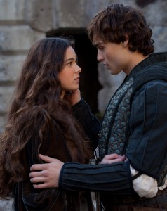 "(l-r) Hailee Steinfeld and Douglas Booth star in ""ROMEO & JULIET."" ©Relativity Media/R&J Releasing. CR: Philippie Antonello."